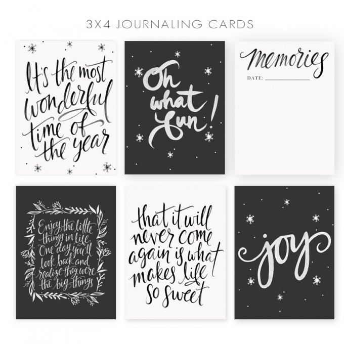 Journaling Cards by Jamie Schultz Designs