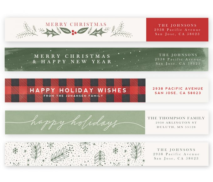 Holiday Jubilee Address Labels