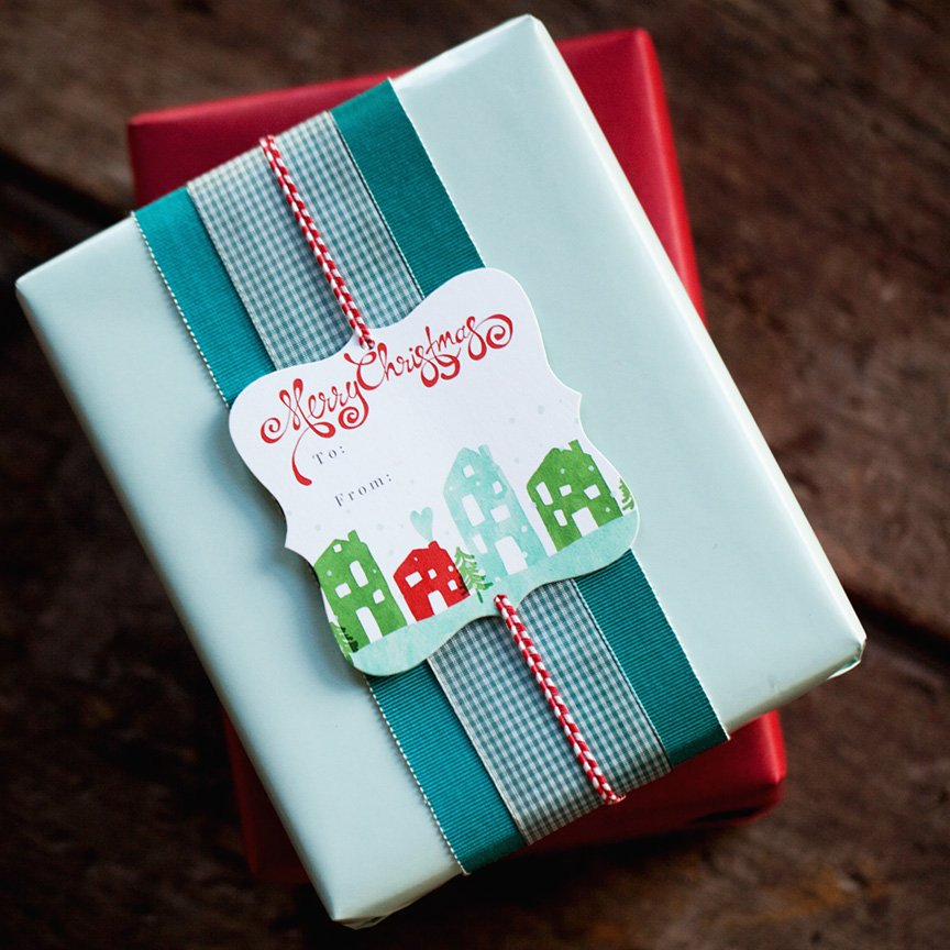 Gift Tags by Jamie Schultz Designs