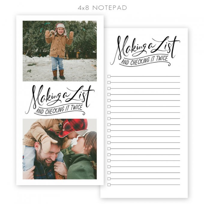 Making a List 4x8 Notepad by Jamie Schultz Designs