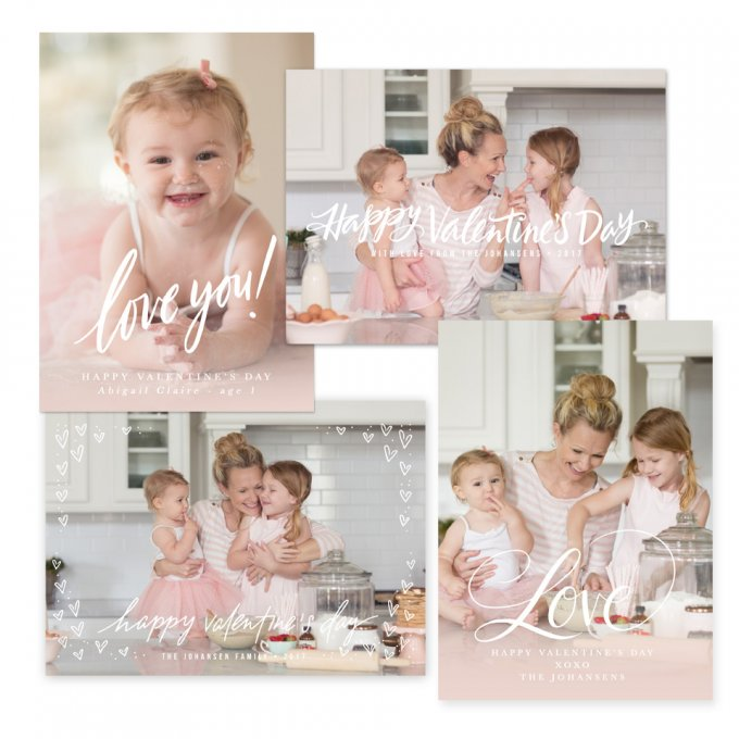 This Is Love Valentine Templates by Jamie Schultz Designs