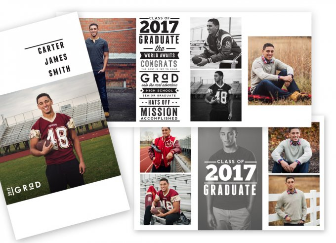 Varsity 4x8 Accordion Book Template