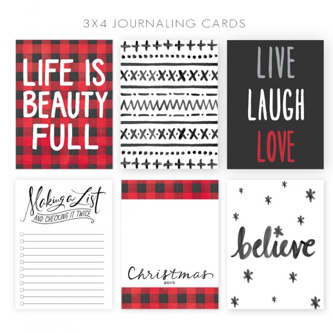 Project Life Journaling Cards by Jamie Schultz Designs