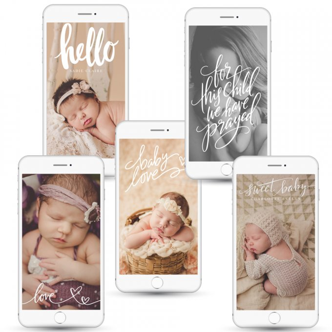 Baby Love Screensaver Templates by Jamie Schultz Designs