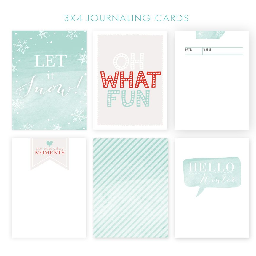 3x4 Journaling Cards from Jamie Schultz Designs