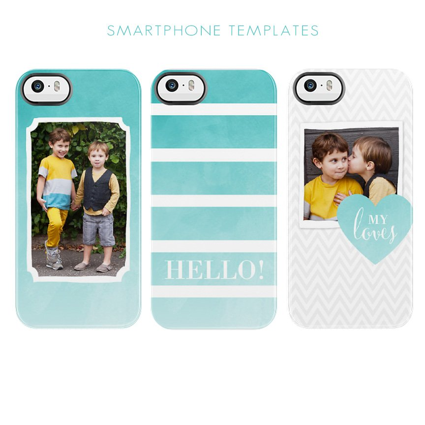 phone case templates by Jamie Schultz Designs