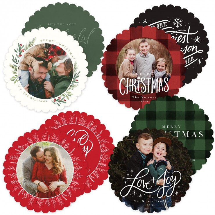 Ornament Card Templates by Jamie Schultz Designs