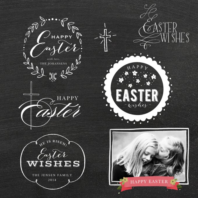 Easter Overlays by Jamie Schultz Designs