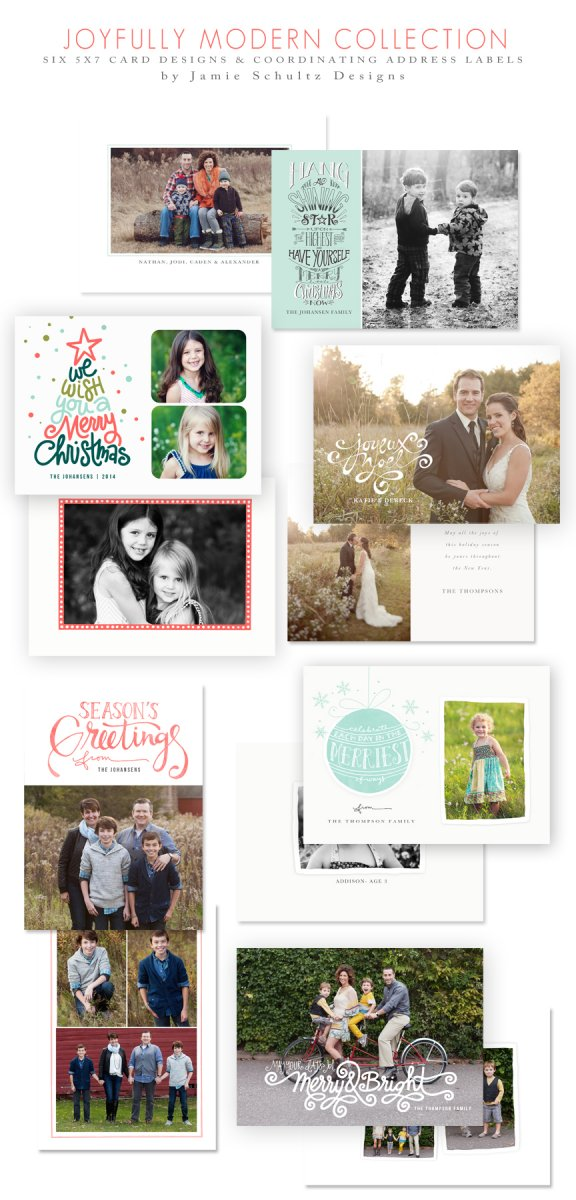 Joyfully Modern Templates by Jamie Schultz Designs