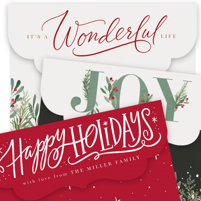 Merry Moments Folded Luxe Card Templates by Jamie Schultz Designs