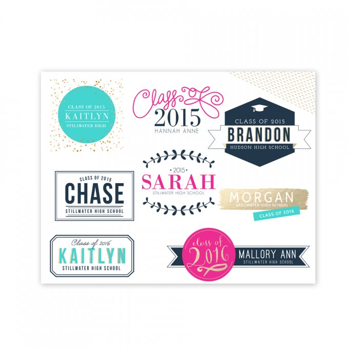 Milestone Overlays by Jamie Schultz Designs