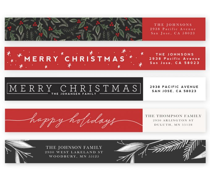 Wonderful Wishes Address Labels