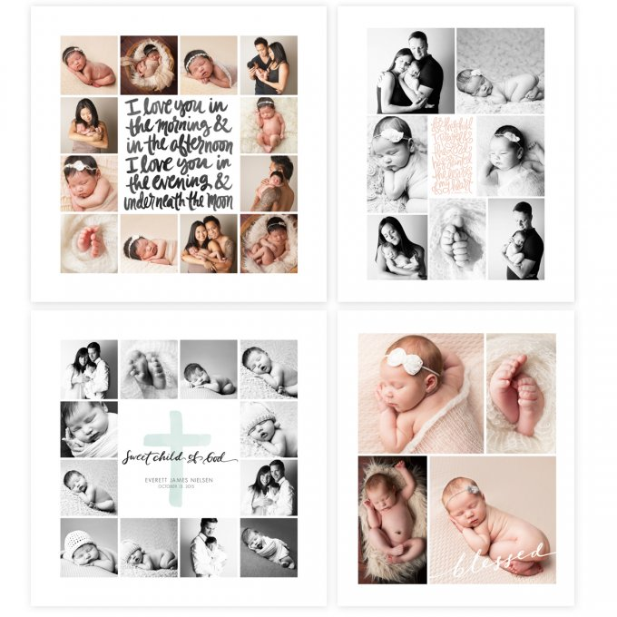 On Display Nursery Print Templates by Jamie Schultz Designs
