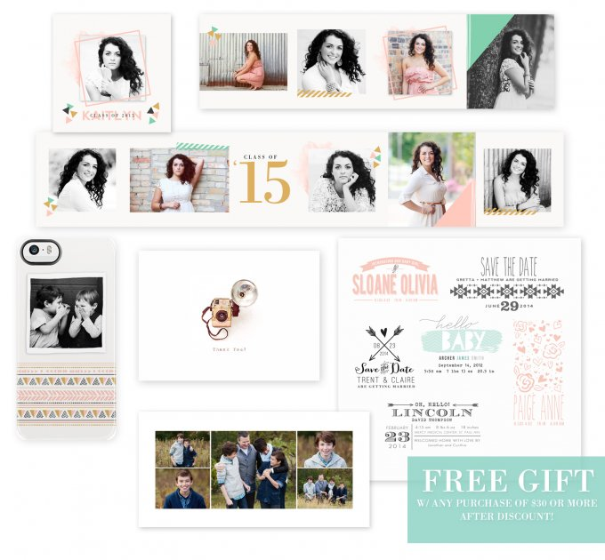 Free Gifts with purchase from Jamie Schultz Designs