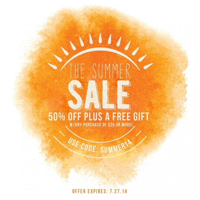 Summer Sale at Jamie Schultz Designs
